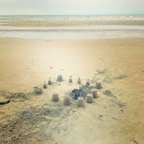 Sandcastles Sunshine Relaxing Le Touquet Sea Le Touquet Beach White Sand Beach By The Seashore, Where Everything Seems Calm And Relaxing..  By The Seashore Plage Normandie, France Pas De Calais Sanddunes Lieblingsteil