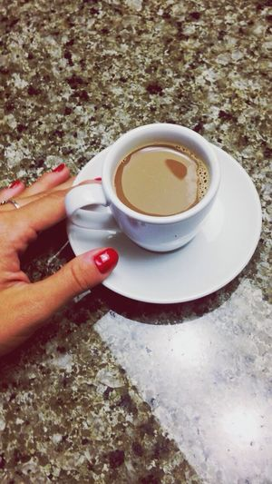Internationalcoffeeday with a cortado at home. Cortado Coffee Morning Rituals
