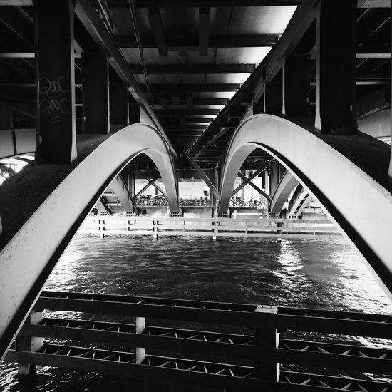 Lines under the bridge NEM Street EverchangingBerlin AMPt - Street NEM VSCO Submissions