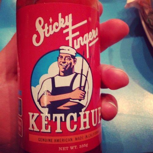 Verdens beste ketchup? Stickyfingers Ketchup