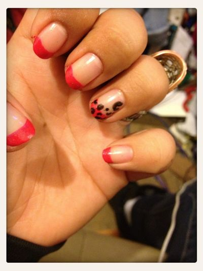 Did My Nails Earlier