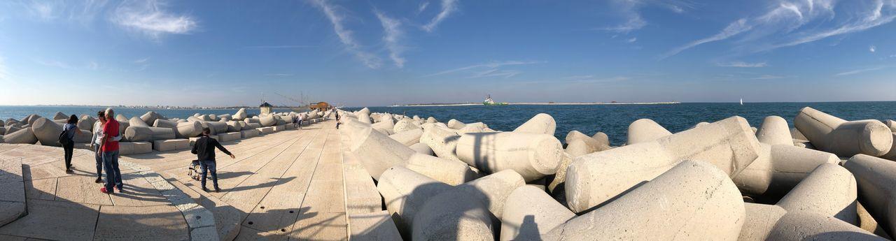 EyeEm Selects Water Sky Sea Horizon Over Water Beach Sunlight Cloud - Sky Horizon Nature Panoramic Outdoors
