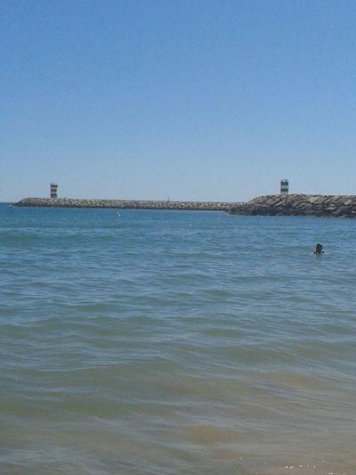 Algarve, Portugal Portugal_em_fotos Praia De Quarteira..Plage De Quarteira Algarve