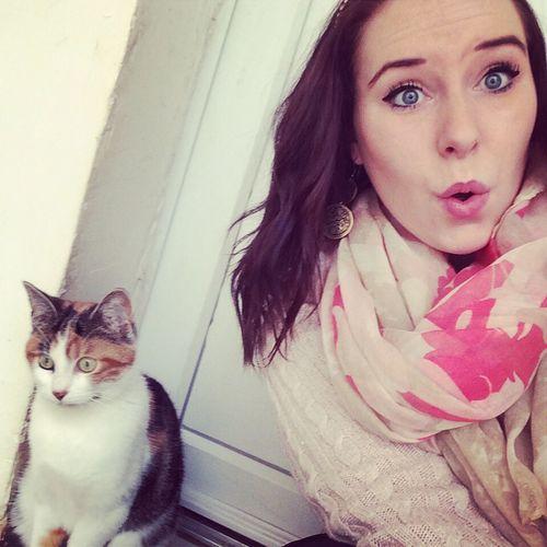 Dosey Pose Cat Woman