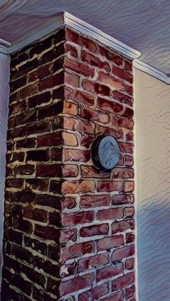 Moms House Farm House Country Living Indoors  Close-up Indoor Chimney Brick