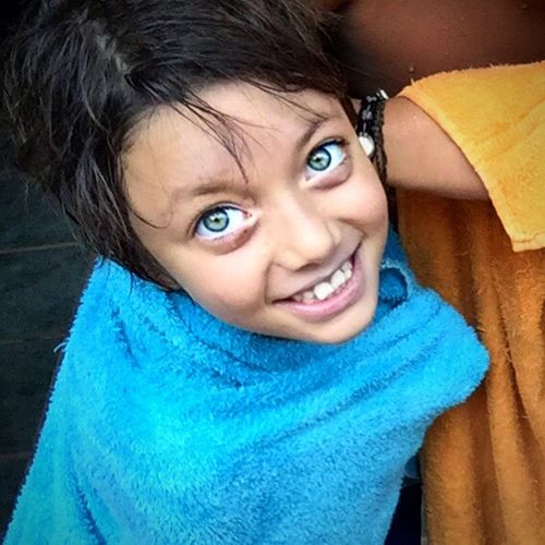 Beautiful Blue Eyes Children Happy Brazil Hello World MyPhotography Innocence Smile Behappy Colors Life Is Beautiful Blessed