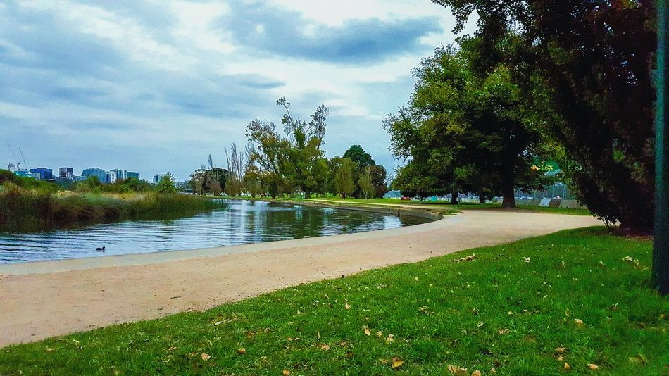 I kind of really love places with bodies of water. 😄 Playground AlbertPark