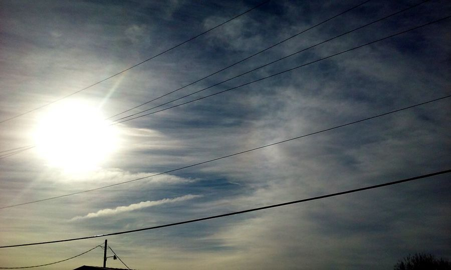Chemtrails Everywhere Check This Out Chemtrail Haze Sun ☀ Sky And Clouds Skyporn Sky_collection Sun_collection EyeEm Gallery MCALESTER,OKLAHOMA Chemtrails😷 Eyeemmarket Strange Skies I Love Chemtrails In The Morning Power Lines EyeEm Best Shots EyeEm Nature Lover