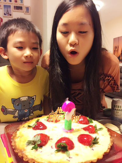Happy Our Birthday One Day Different Aunt And Nephew<3