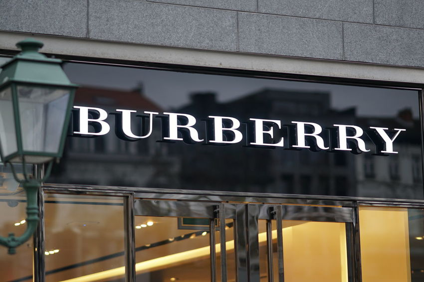 Brussels, Belgium - December 9, 2017: Burberry store. Burberry Group PLC is a British luxury fashion house focusing on trench coats, ready-to-wear outerwear, fashion accessories, fragrances Clothes Store Fashion Brand Building Exterior Burberry Clothes Shop Clothes Shopping Clothing Shop Clothing Store No People Outdoors