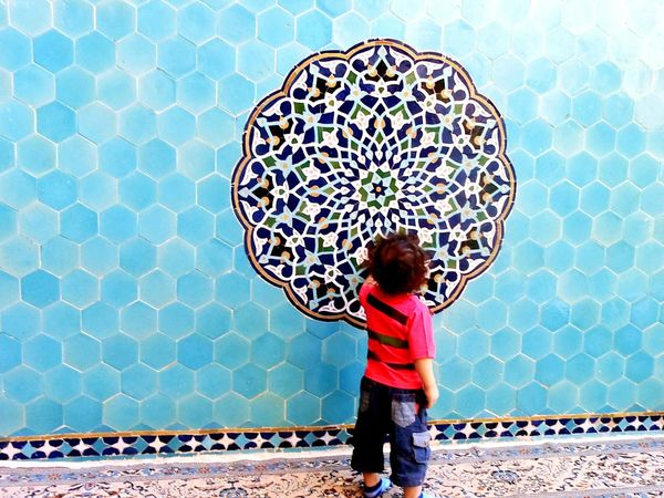 Iran Iran Shot Jame Mosque Yazd Color Colorful Pattern Happy Colors Islamic Architecture Islamic Art Islamic My Baby Boy My Son