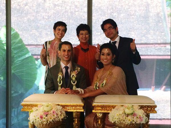 Anne&Evan's wedding ceremony