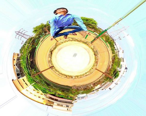 Started from the bottom , now we're here :) Circle Photography Shanti Takes You High Ontopoftheworld