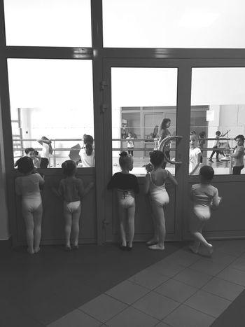 Ballett Ballerinas Ballerina Kids Girls Blackandwhite Moscow Moscow, Москва
