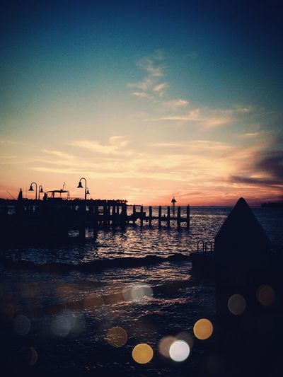 Sunset last night.