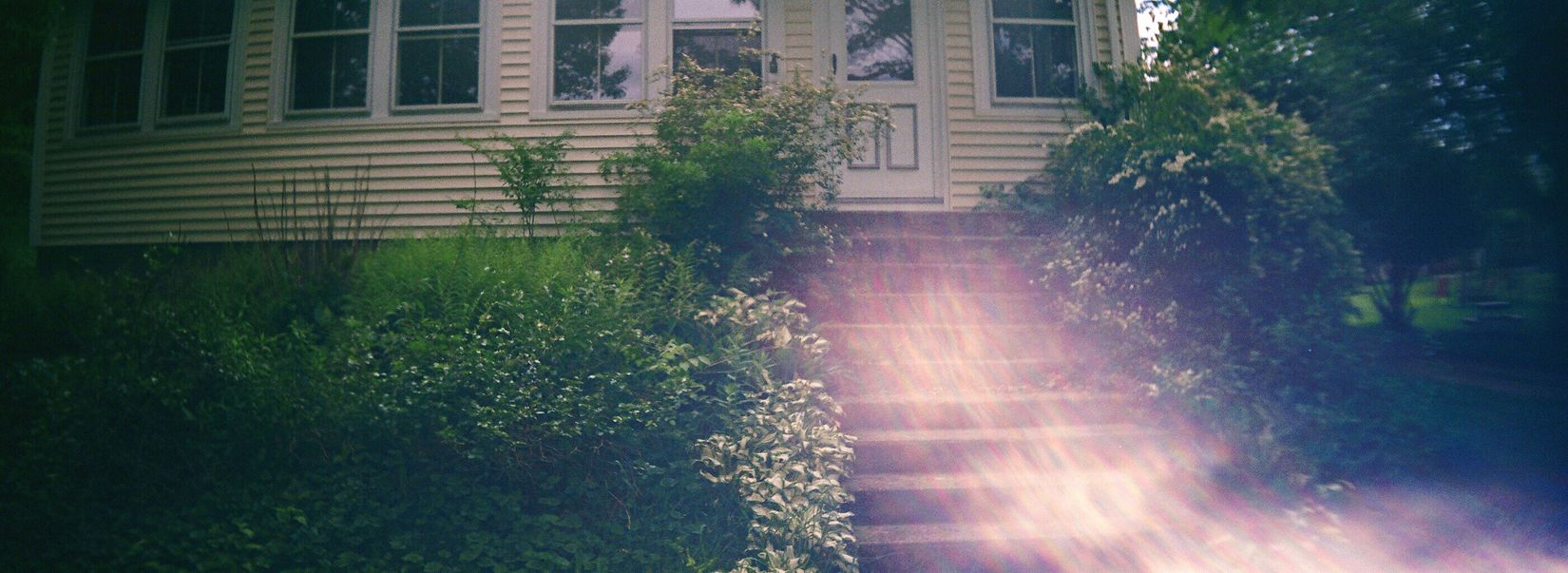 Architecture Building Exterior The Way Forward Koduckgirl Farmhouse Sprocket Rocket Panorama Film Country Life Country House Steps Sunlight