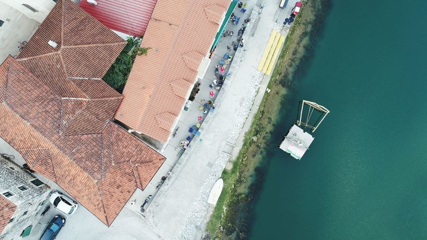 Water Aerial View Agriculture High Angle View Textile