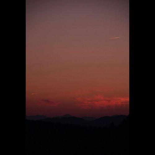 風景 夕暮れ 空 雲