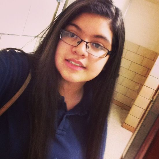 Throwback (: , at school lmfao