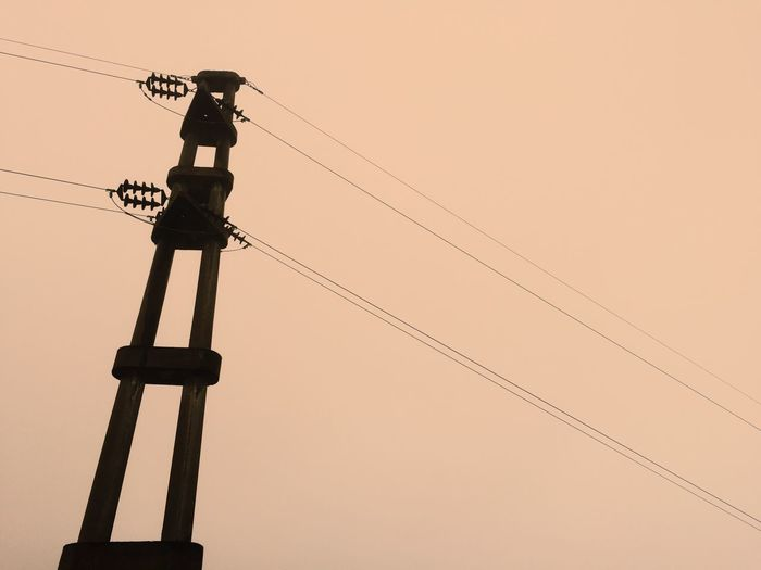 Millennial Pink Cable Electricity  Power Line  No People Argentina
