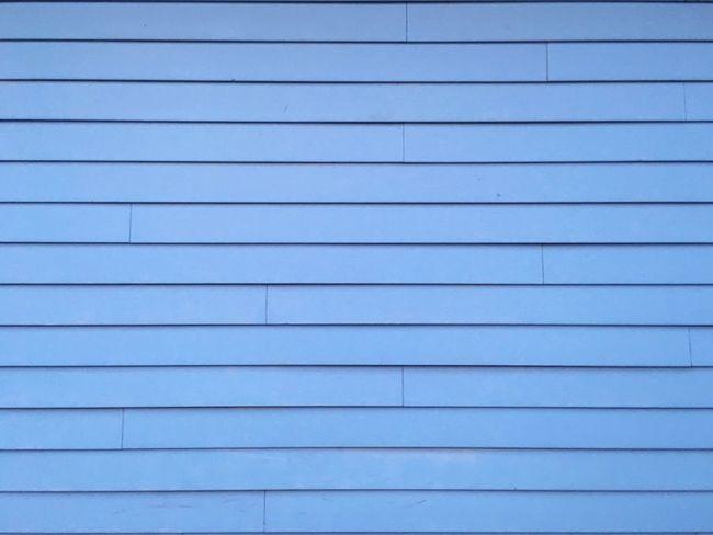 Blue Wall Rows Of Things Wood House Simplicity Order Okc Oklahoma City Oklahoma