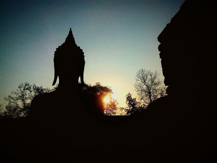 Buddha Art Thailand Sunset Phitsanulok Naresuan University Atchara First Eyeem Photo