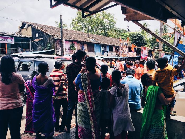 The Crowds of Mumbai Large Group Of People Outdoors Crowd City Life First Eyeem Photo