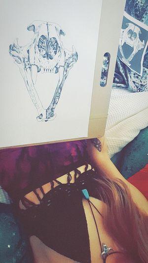 Creating Art Summerstone Animal Fineliner Dotwork Createdaily Inspire Melbourneartists Nature Love Life Skulls POTD