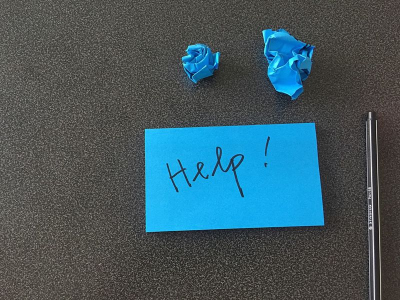 Help Notes Post It Start Up