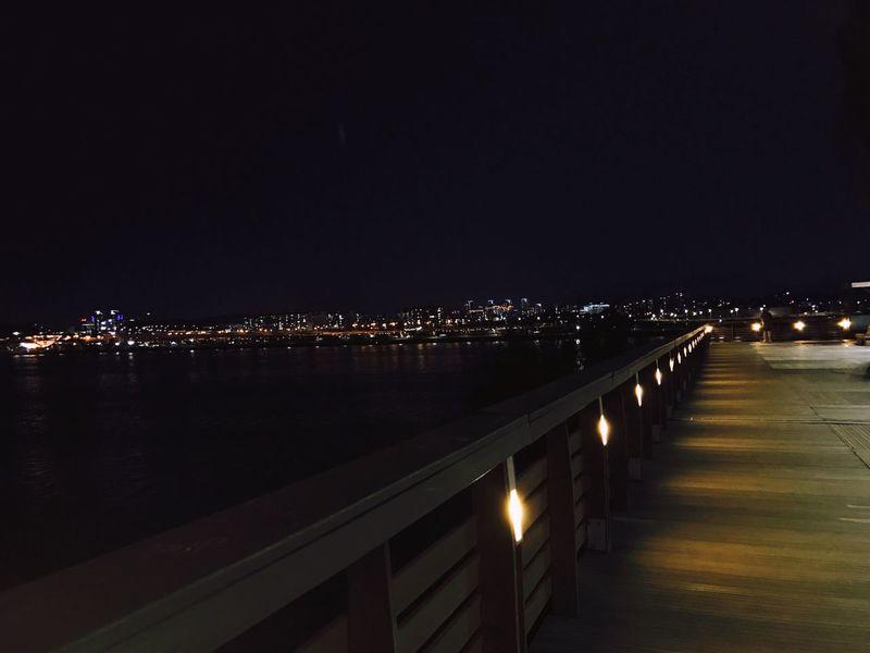 Park Seonyudo Hangang Seoul Night City Relaxing