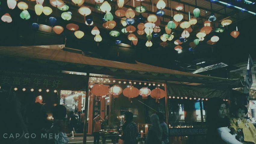 Capgomeh Indonesian Street (Mobile) Photographie