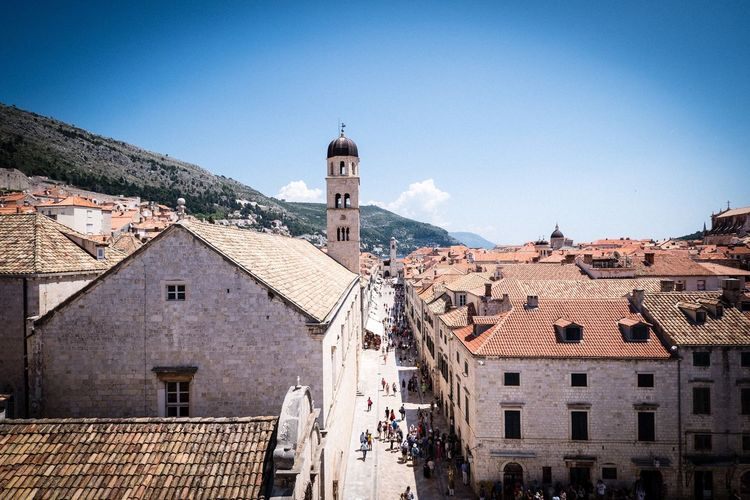 Dubrovnik Old Town Dubrovnik, Croatia Dubrovnik Architecture Built Structure Building Exterior Building Sky Tower City Roof Roof Tile