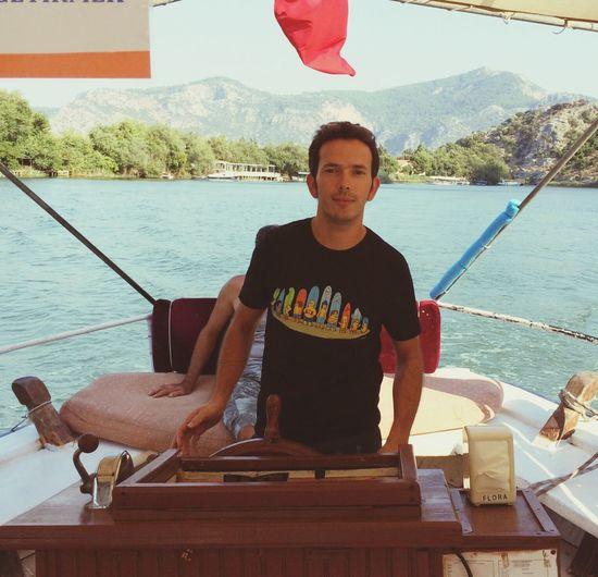 Hello World My Captain... Boat Trip Dalyan Lake