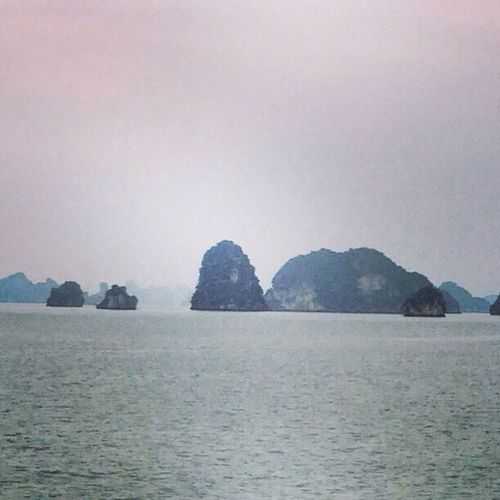 Haze at Ha Long Bay ... Ha Long Bay Vietnam Indochina