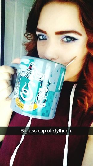 Cranky? Start your day off right with a nice big ass cup of slytherin! Harrypotter Harry Potter Harry Potter ⚡ Harry Potter ❤ Harrypotterfan Harry Potter Studios Harrypotterworld Slytherin Slytherin Pride Slytherinhouse Slytherin :3 Slytherinpride