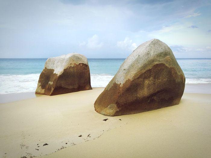 rocks on the