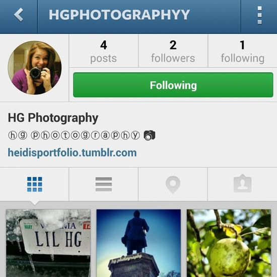 follow my photography on instagram :) Photography