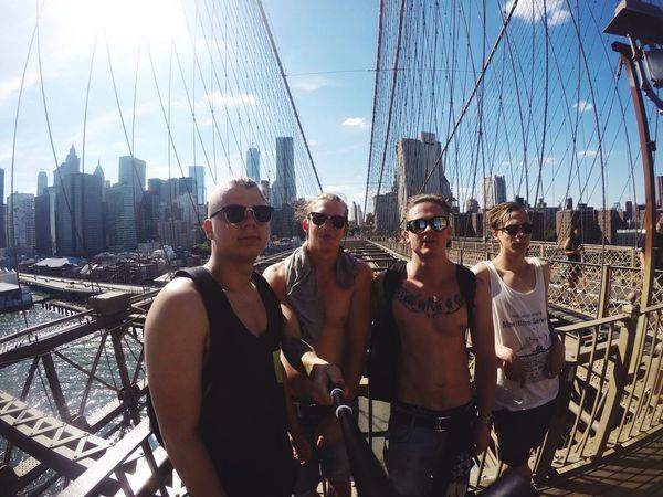 @Brooklyn Bridge New York Nosleeptilbrooklyn Mafia  Summer