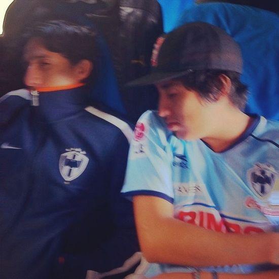Buenos Dias jaja Rayados Rayado Monterrey Morning hinchas bus barrabrava vamosrayados siempremty ligamx albiazul