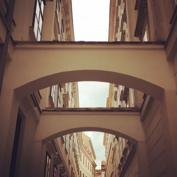 Blutgasse Bogen Österreich Wien Built Structure Window Low Angle View Building Exterior Day The Graphic City No People City Indoors  The Graphic City