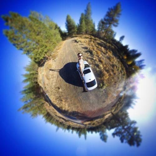 Car Roof Selfie
