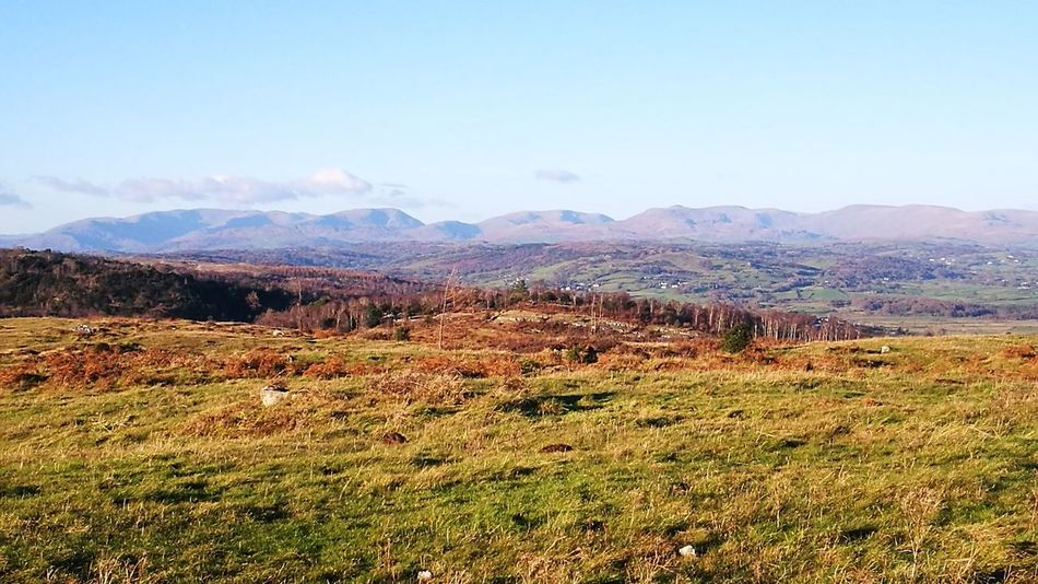 I Love The Lakeland Fells Lake District From Whitbarrow Summit Mountain Landscape Scenery Time To Get Out Live Life Beauty In Nature Cloud - Sky Majestic Idyllic Day Tranquility Beautiful Day