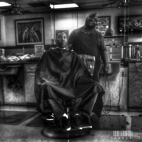Just messing around. HDR Collection Black And White Barber Shop Taking Photos