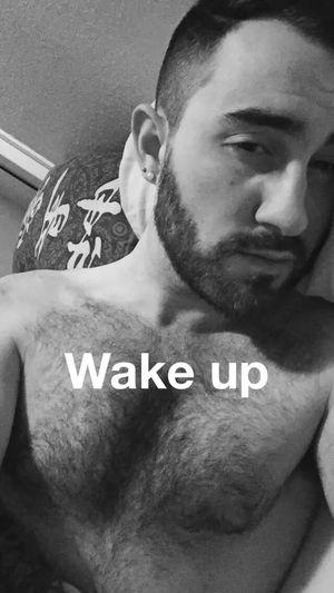 Wake Up Wakeup Gay Gayboy Greek Gaybear Beard 😘 Followme