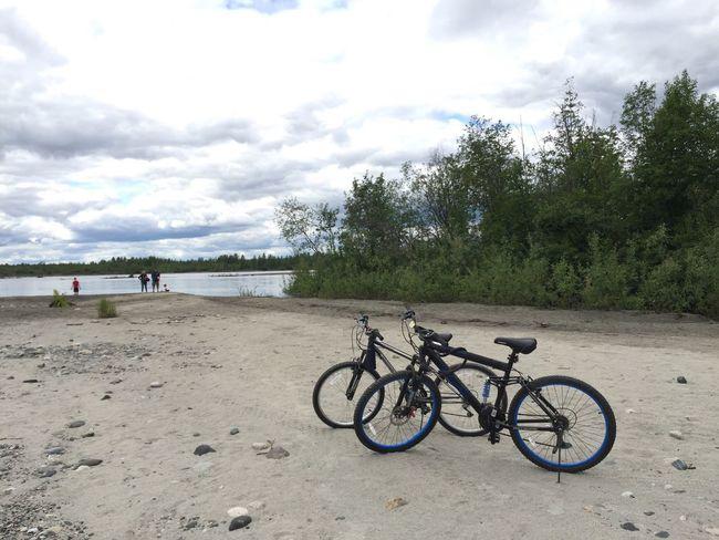 Gateway for break, cycling!