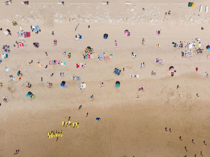 Costa De Caparica Lisbon Portugal Beach Beauty In Nature Drone  Sunbathing Nature Outdoors Travel Photography