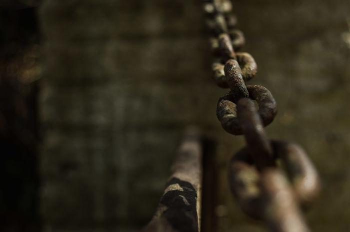 Cadenas oxidadas Cadenas Rusty Rusty Chains