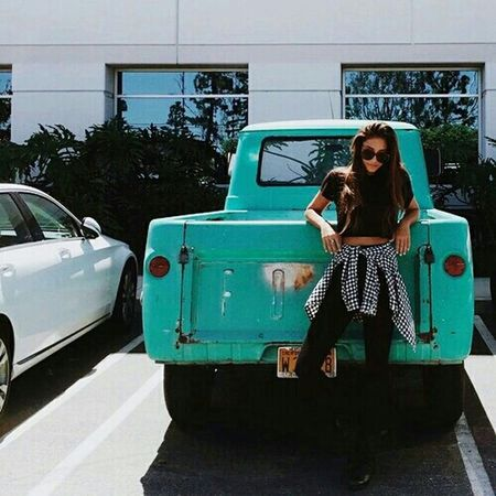 Car Old Car Green My_Photography Model Girl Travel Perfect Withfriends Streetphotography