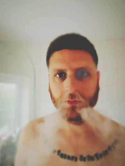 I'd just woken up... Closeupshot Weirdography Rich Colors Warped  Abstract Androidography Stuff Of Nightmares Makes You Think Time To Reflect Selfie ✌ Crazy Face Strange Distorted Reality Unrecognizable Person Handsome Ecigarette Vapeporn Ashford Kent