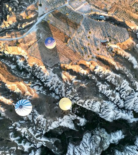 View From Above Hot Air Balloon Hot Air Balloons Turkey Capadocia Kapadokya ShotOnIphone Day High Angle View Nature Full Frame No People Land Plant Tranquility Sunlight Rock - Object Beauty In Nature Close-up Outdoors Plant Part Pattern Growth Backgrounds Rock Field Solid